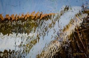 abstrait reflets dans l'eau-7370 copy